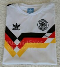 1990 West Germany home Italia World Cup retro football soccer shirt
