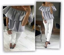 New Fashion Women Sexy Off Shoulder Casual Blouse Summer Tops Beach T Shirt