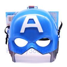 Super Hero Captain America Marvel Avenger MASK Halloween Party Costume Kid Toy
