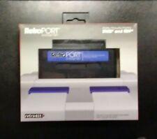 RetroPort Adapter Nintendo NES to Super Nintendo SNES Cartridge Complete