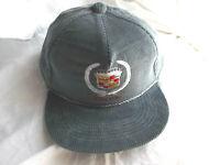 VTG Cadillac  Gray  Corduroy Men's  Baseball Cap Dad Hat  Adjustable Snapback