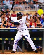 MIGUEL SANO - MINNESOTA TWINS  8X10 photo signed