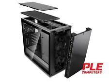 Fractal Design R6 Blackout USB-C Mid Tower Case w/Tempered Glass Side Panel[F..