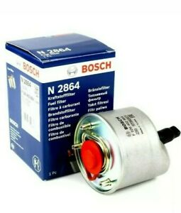 BOSCH FUEL FILTER FOR FORD FIESTA MK7 1.5 1.6 TDCi N2864 FREE DELIVERY