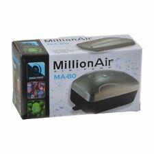 LM Via Aqua Million Air Pump MA80 - 1 Air Outlet (10 Gallon Tank)
