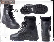 Scarpe Stivaletti Stivali per Moto Anfibi Militari Impermeabili Zip Neri Mis 41