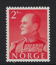 NORWAY :1958  King Olav V 2k rose-red    SG487 mint