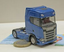 Herpa SCANIA Cs20 Zugmaschine blau 306706