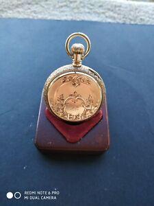 Antique Am Waltham Royal size 6,14k Fancy Hunter Pocket Watch, C 1885. 56.4g