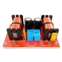 150W 3-Wege-HiFi-Lautsprecherteiler Frequenzweiche Höhen-Bass Medi DBSD