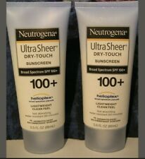 NEUTROGENA  2 Ultra  Sheer Dry-Touch Sunscreen SPF 100+ with Helioplex. EXP 2022