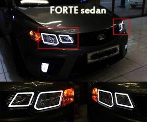 [Kspeed] (Fits: KIA 2008-2012 Mohave Borrego ) LED Circle Eye Modules Diy KIT