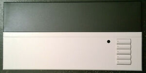 NEW Lutron Grafik-Eye-QS QSGFP-TWH Faceplate - Black Top and White Bottom