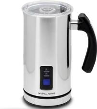 Andrew James Milk Frother Electric Jug with Foamer Hot & Cold Use 300ml Capacity