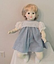 """Suzanne Gibson Doll Vintage Blond Hair Blue Eyes   22"""""""