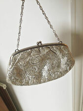 Eveningwear Metal Vintage Bags, Handbags & Cases