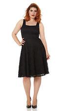 Polyester No Pattern Square Neck Regular Dresses for Women