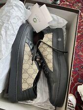 Gucci Men's GG Supreme Low Top Sneakers Sz 9 G Excellent Condition!! *Authentic*