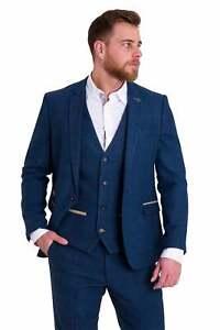 Marc Darcy Premium Tweed blazer suit Jacket Smart Formal sizes 34-52
