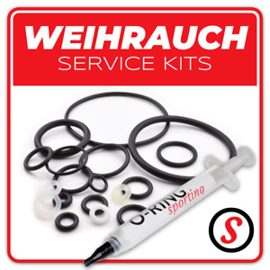 WEIHRAUCH Polyurethane PTFE O Ring seal washer service kit + OPTIONAL GREASE