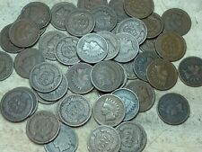 1889 Indian Head Cent roll - 50 coins, nice condition