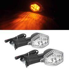 1Pair Clear Lens LED Turn Signal Light fit Suzuki DL650 DL1000 V-Strom GSX 650F
