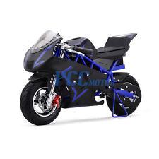 FREE SHIPPING BLUE 500 WATT KID ELECTRIC MINI BIKE MOTORCYCLE 36V DB40E_B