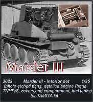 Czech Master 1/35 Marder III Engine set for Tamiya kit # 3023