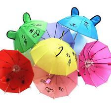 Children's Kids Mini Animal Ears Cartoon Dance Lovely Small Umbrella Hot Sell