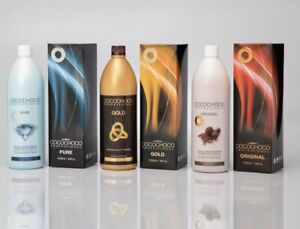 COCOCHOCO Pro ORIGINAL Brazil Keratin Straight Hair Salon Treatment 3 X1000ml 1L