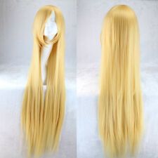 NEW 100cm Wigs Long Straight Cosplay Fashion 21 Colors Wig Heat Resistant