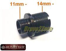 11mm CCW Airsoft GBB Pistol to 14mm CCW Standard Barrel Converter Adapter
