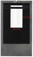 Film holder for Imacon Flextight scanners, 6x9 with ID code, scan 58mm x 91mm