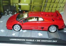 James Bond 007 Modellauto Collection N° 39 Lamborghini Diablo - Die another Day