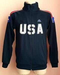 USA Authentic treck blue Kappa Jacket size M