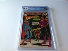 WORLDS FINEST COMICS 200 CGC 9.0 1971 SUPERMAN CALENDAR NEAL ADAMS DC COMICS