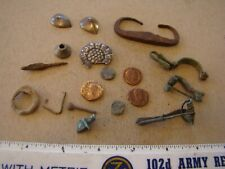 Lot Roman Empire coins relics artifacts, metal detector !