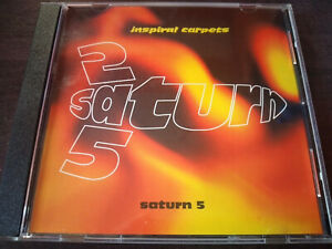 THE INSPIRAL CARPETS - Saturn 5 CD Promo Single / Indie Rock / Made In USA