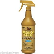 Farnam Bronco Gold 32 Oz Horse Equine Fly Insect Spray Conditioner 3005635