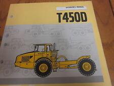Volvo T450D Scraper Hauler Operators Manual
