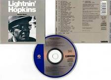 "LIGHTNIN' HOPKINS ""Double Blues"" (CD) 1989"