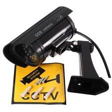 Outdoor Dummy Fake LED Flashing Security Camera CCTV Surveillance Imitation