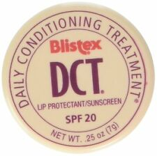 2 Pack Blistex DCT Daily Conditioning Treatment SPF 20 Lip Balm .25 Oz Each
