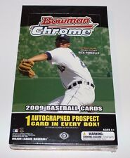 2009 Bowman Chrome Hobby Box BRAND NEW & FACTORY SEALED!