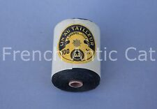 C1118 Antique spool thread linen Lin Au Tailleur Crespel Lille 100 50 grs french