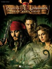 Pirates of the Caribbean Dead Man's Chest Sheet Music Piano Solo Songb 000313343