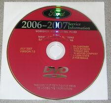 2007 Ford Edge Lincoln MKX Service Repair Manual Set DVD