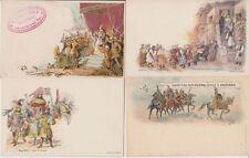 HUNGARY LITHO 35 Vintage Postcards Postal cards Mostly UPU 1898