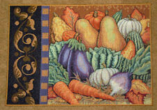 Fall Veggies - Vegetables of Autumn Tapestry Placemat