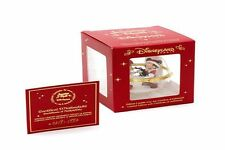 MICKEY & MINNIE vetro decorazione, Disney, Christmas, Natale, con certificato